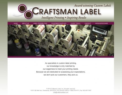 Craftsman Label